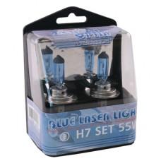 LAMPENSET BLUE LASER LIGHT H7 55W 12V
