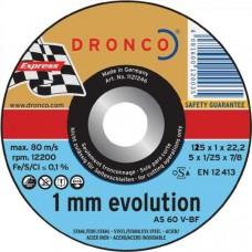 F-SDV115INOX DRONCO SPECIAL INOX 115 1/22.2 AS 60 INOX VLAK VPE:25