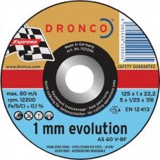 F-SDV125INOX DRONCO SPECIAL INOX125 1.0/22.2 AS60 INOX VLAK VPE:25