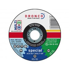F-SDV125MLT DRONCO SPEC.DOORSL. MULTI 125 1.2/22.2 VPE:25