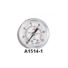 """A1514-1 MANOMETER 1/8"""" A.A. Ø40 MM 0-12 BAR"""
