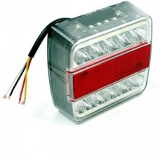AHW26543 ACHTERLICHT LED 12/24V 15 LEDS 98*105*35 MM