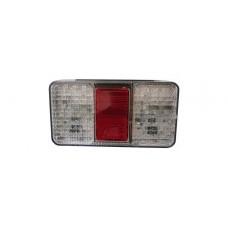 AHW26627 ACHTERLICHT LED WIT 150X80X30 MM 150 CM KABEL 40 LED'S