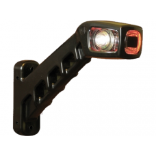 PENDELLICHT LED LINKS WIT-ORANJE-ROOD