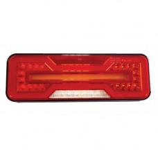 ACHTERLICHT 71 LED'S 284X100 X 37 MM LINKS MET DYNAMISCHE RICHTING
